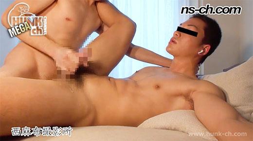 HUNK CHANNEL – NS-327 – 狙ったノンケを生喰い!!過激プレイに耐えるノンケ!!